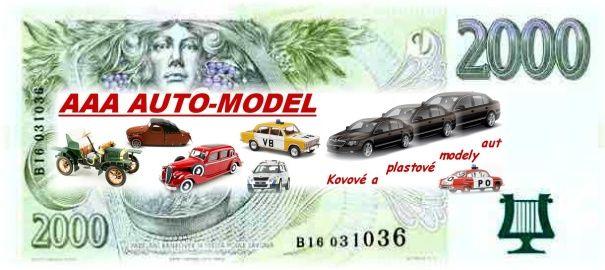 Dárkový šek 2 000,- Kč AAA AUTO-MODEL