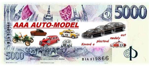 Dárkový šek 5 000,- Kč AAA AUTO-MODEL