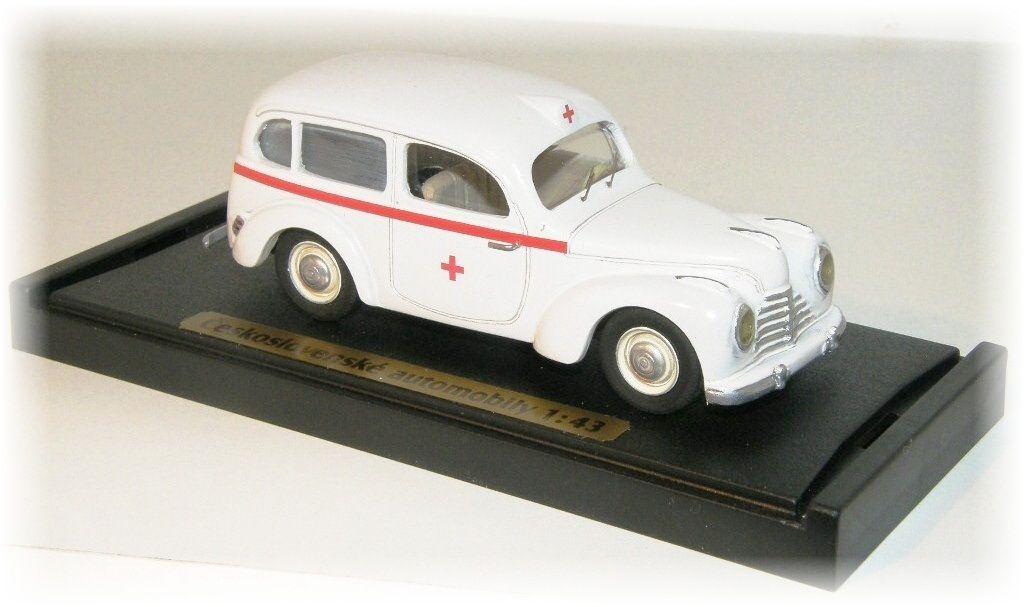 "ŠKODA 1001 ambulance ""1946"" CVKP"
