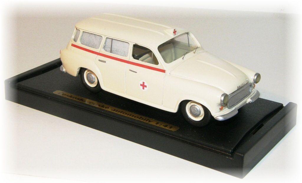 "ŠKODA 1202 - ambulance ""1961"" CVKP"