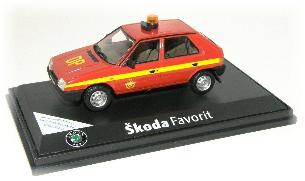 """Škoda Favorit 136L """"1987"""" DP hl. města Prahy Pohotovost Abrex"""