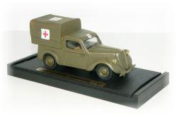"""ŠKODA POPULAR OHV vojenská ambulance """"1938"""""""
