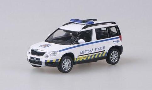 "Škoda Yeti Městská Policie Praha ""2012"" Abrex"