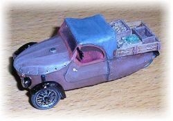 """VELOREX - valník s nákladem """"1957"""" AAA AUTO-MODEL"""