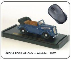 """Podložka pod myš - Škoda popular OHV   """"1937"""""""