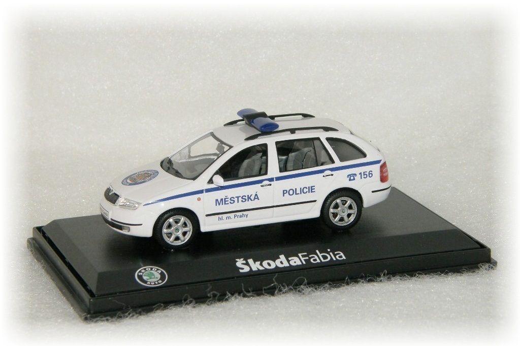 "Škoda Fabia Combi Městská Policie Praha ""2002"" Abrex"
