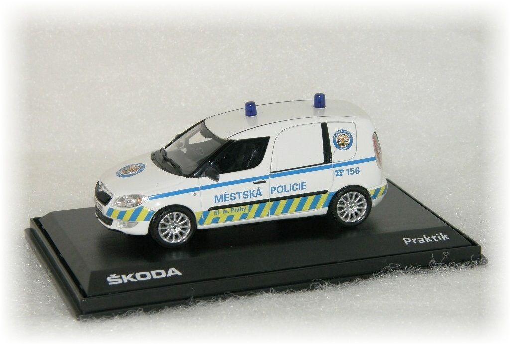 """Škoda Praktik Městská Policie hl. města Prahy """"2009"""" Abrex"""