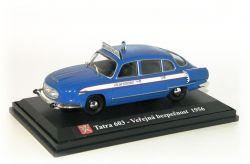 """Tatra 603-1   Veřejná bezpečnost    """"1956"""""""