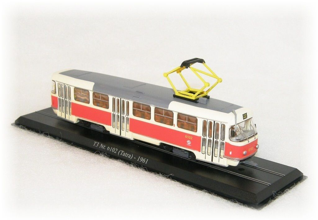 "Tramvaj Tatra T3 - Tatra Smíchov ""1961"""