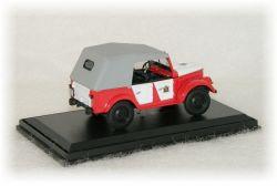 """GAZ 69A SDH - sbor dobrovolných hasičů """"1979"""" VL"""