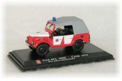 """GAZ 69A    SDH - sbor dobrovolných hasičů   """"1979"""""""