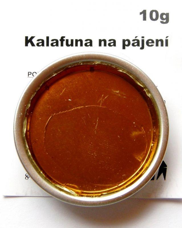 Kalafuna na pájení