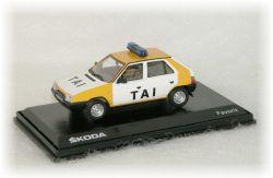 """Škoda Favorit - Tanková a automobilová inspekce   """"1987"""""""