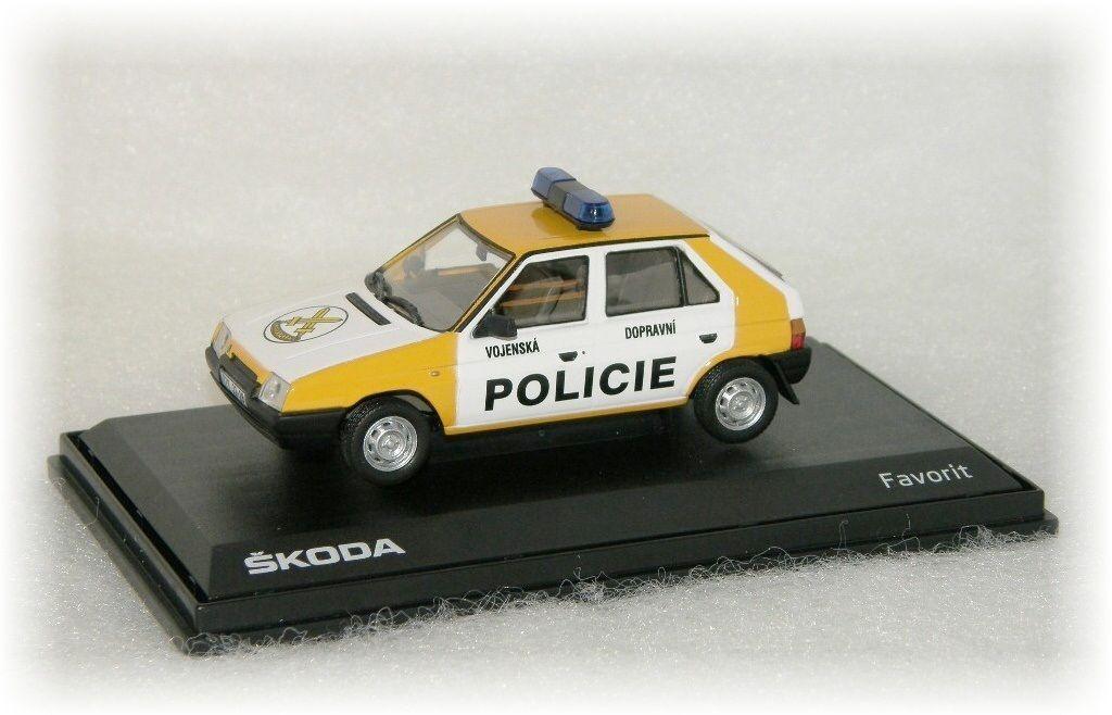 """Škoda Favorit - Vojenská Dopravní Policie """"1992"""" Abrex"""