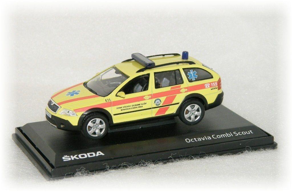 """Škoda Octavia Combi Scout - Záchranná služba """"2009"""" Abrex"""