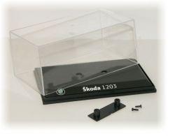 Vitrínka plastová 137x58x76mm - Škoda 1203