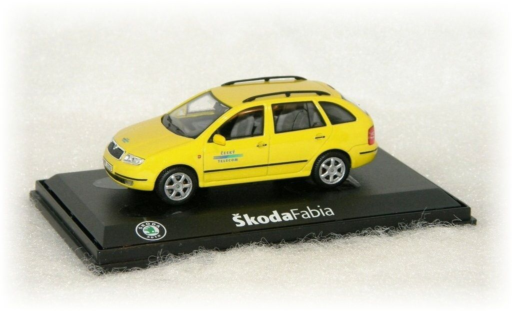 "Škoda Fabia Combi Český Telecom ""2000"" Abrex"