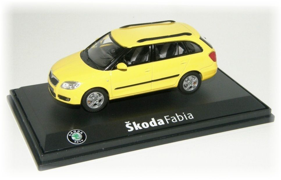 "Škoda Fabia II Combi ""2008"" Abrex"