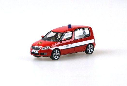 """Škoda Roomster Hasičský záchranný sbor hl. města Prahy """"2006"""" Abrex"""