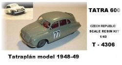 """TATRA 600  Tatraplán   """"1948"""""""