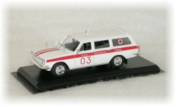 "Volha GAZ 24-03 Ambulance   ""1973"""