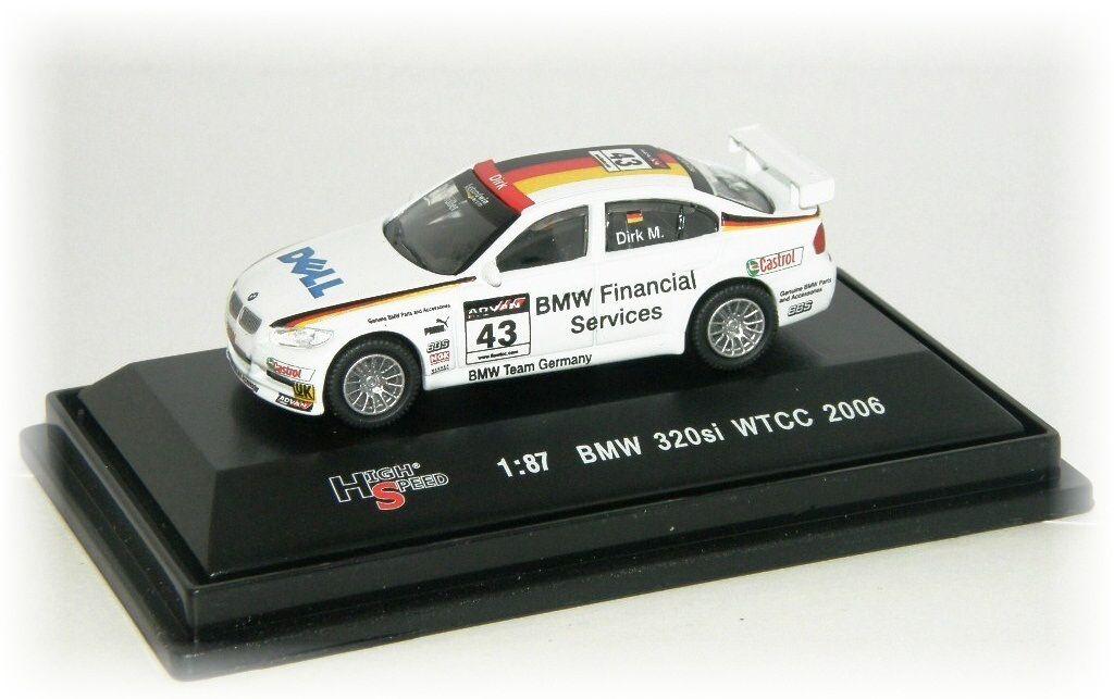 "BMW 320si WTCC ""2006"" HighSpeed"