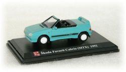 """Škoda Favorit Cabrio (MTX) """"1992"""" SK Models"""