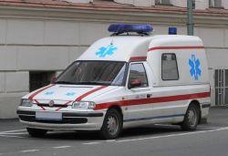 "Škoda Felicia Laureta ambulance ""1999"" SK Models"