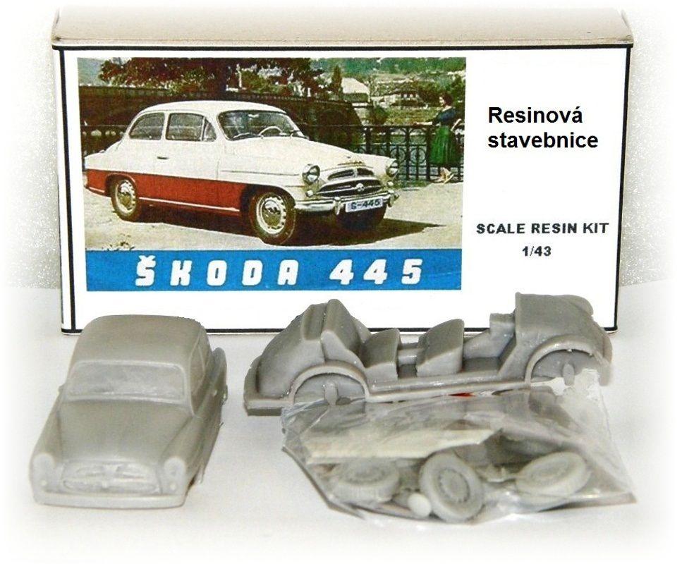 """ŠKODA SPARTAK 445 """"1957"""" AAA AUTO-MODEL"""