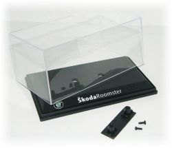 Vitrínka plastová 137x58x76mm - Škoda Roomster