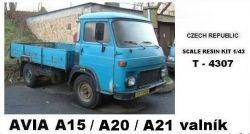 """Avia A15 / A20 / A21 - valník    """"1973"""""""