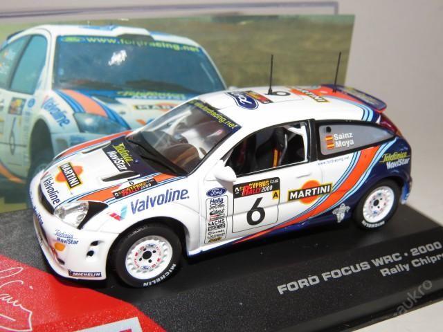 "Ford Focus WRC Rally No.6 ""2000"" IXO"