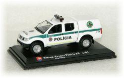 """Nissan Navara Polícia SR - hipologia  """"2005"""""""