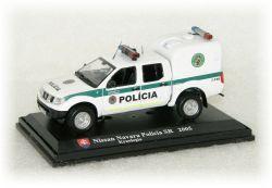 """Nissan Navara Polícia SR - kynologia  """"2005"""""""
