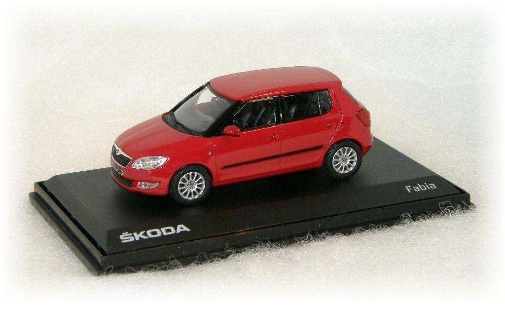 """Škoda Fabia II facelift """"2010"""" Abrex"""