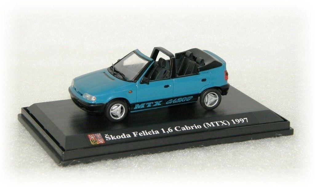 """Škoda Felicia 1,6 Cabrio (MTX) """"1997"""" SK Models"""