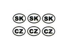 Státní značky  CZ / SK