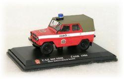"UAZ 469 - sbor dobrovolných hasičů    ""1986"""