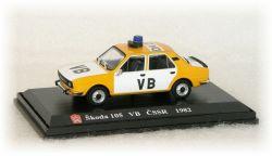 "Škoda 105 S   VB ČSSR  ""1982"""