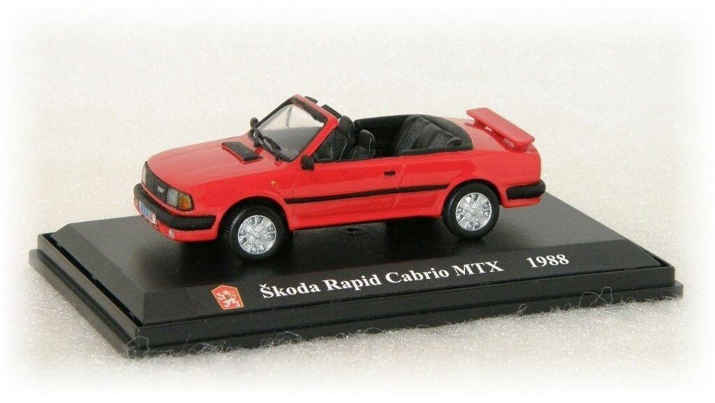 """Škoda Rapid 136 MTX Cabrio """"1988"""" SK Models"""