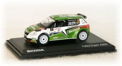 "Škoda Fabia S2000 - Canon Mecsek Rallye  No.2  ""2011"""