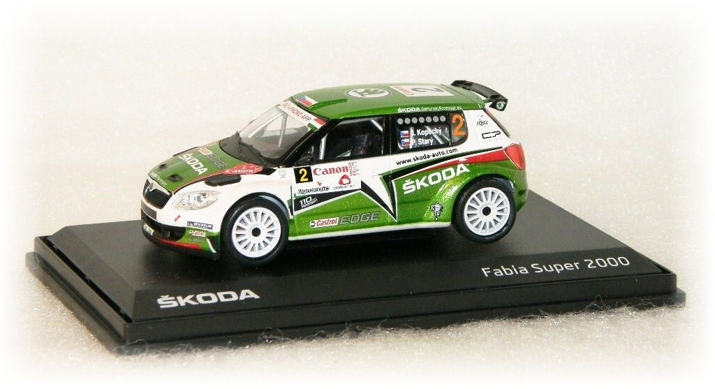 """Škoda Fabia S2000 - Canon Mecsek Rallye No.2 """"2011"""" Abrex"""
