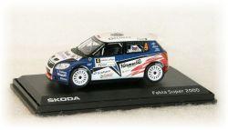 """Škoda Fabia S2000 -  Valašská Rally  No.4  """"2010"""""""